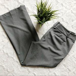 LOFT Bootcut grey dress pants